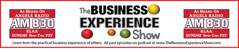 Print Advertising Banner for Business Experience Show