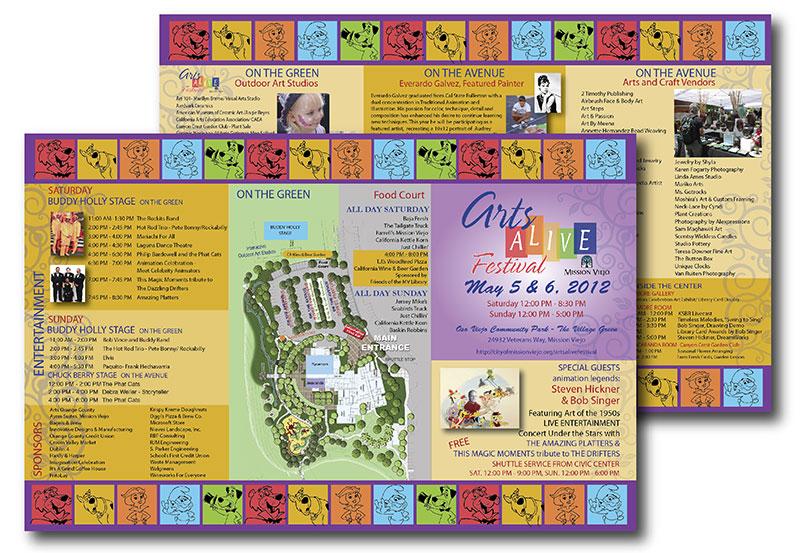 example of brochure design