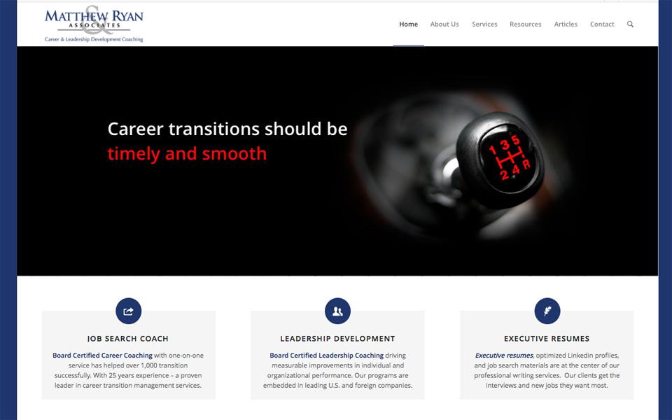 Matthewryan.com website image