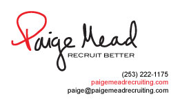 Paige Mead business card